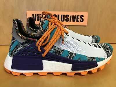 0881952d92bad ADIDAS NMD HUMAN Race Pharrell Williams Solar Pack Orange BB9528 ...