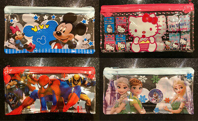 Kids Pencil Case Avengers Spider-man Hello Kitty Mickey Mouse Frozen New Cheap