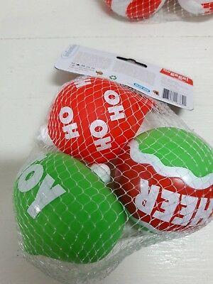 Christmas Infantino Go Gaga Squeeze Squeak Ornaments  3 Pack Baby Toys