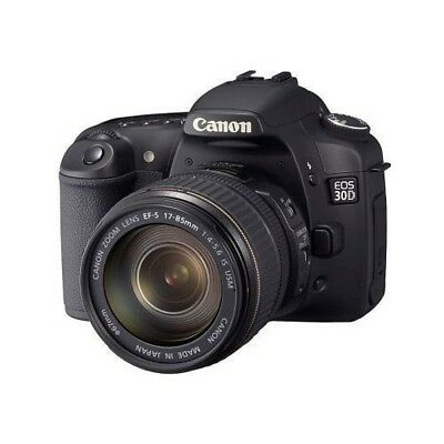 USED Canon EOS 30D with EF-S 17-85mm f/4-5.6 IS Excellent FREESHIPPING