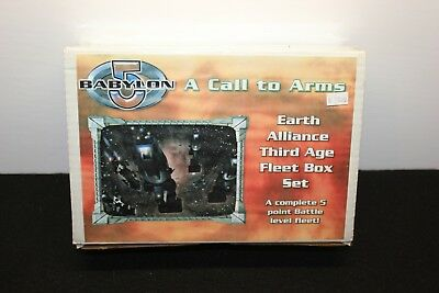 Mongoose Publishing Babylon 5 A Call To Arms Earth Alliance Third Age Boxed Set