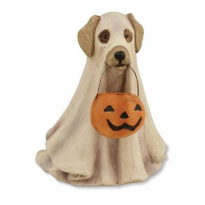 "Bethany Lowe Trick or Treat Collection Spooky Halloween Ghost Dog Figure 4"" Tall"