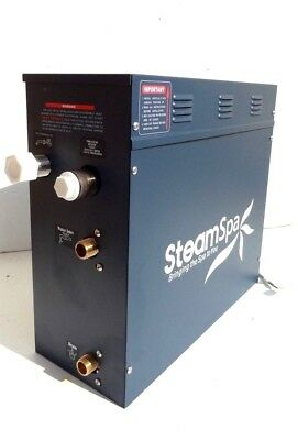 Steam Bath SteamSpa S-750 Steam Generator 7500 Wattage 32 Amps 50/60 Hertz 240 V