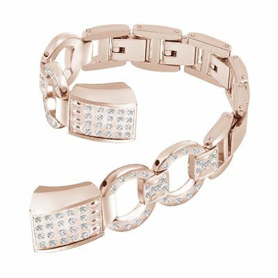 For Fitbit Alta HR Bracelet Replacement Jewelry Wristbands Watch Band Rose Gold