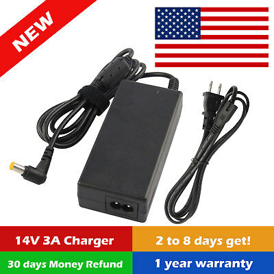 AC Adapter Charger Power Supply Cord for Samsung LCD Monitor S24D590PL S24E390HL