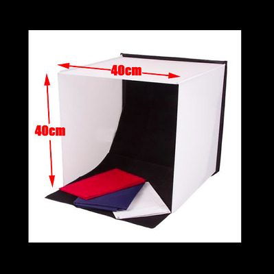 Portable 40cm Camera Studio Photo Soft Box Light Tent Lighting Cube Softbox Kit