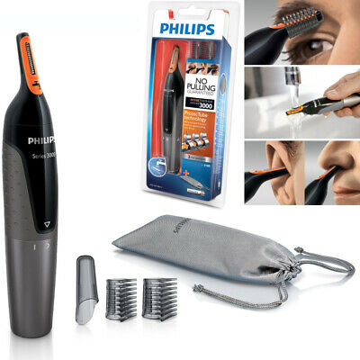 Hair Trimmer Philips Nose Ear Eyebrow Shaver Washable No Pulling No Cut
