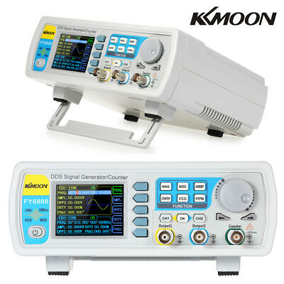 KKmoon FY6800-60M DDS Dual-Channel Function Signal/Arbitrary Waveform Generato