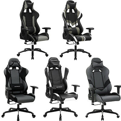 Songmics Office Chair Computer Chair Racing Sport Swivel Executive Office Chair