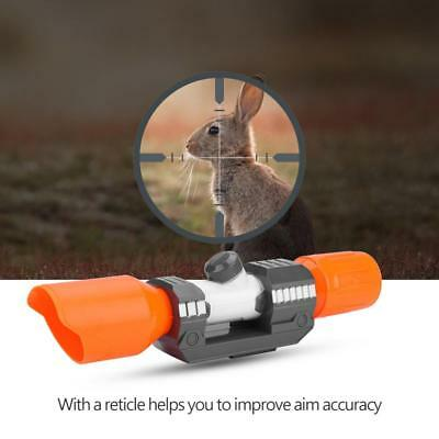 Tactic Scope Sight Attachment Shoulder Stock ABS Plastic for Nerf Modify Toy ZH