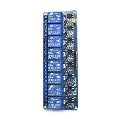 5V 1/2/4/8 Channel Relay Board Optocoupler Module LED for Arduino PiC ARM AVR