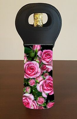 Roses Wine Bottle Cooler Carry Bag