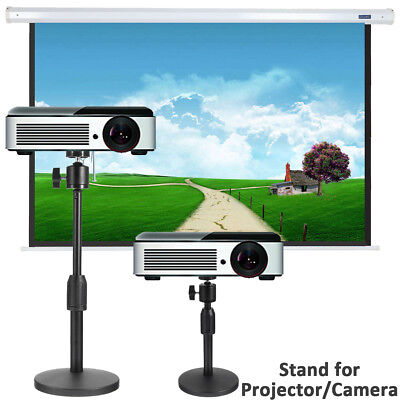 Portable Adjustable Projector Laptop Camera Table Stand Mount Height 21-30cm