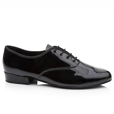 Freed MPB Black Patent Lace Up Ballroom Shoes