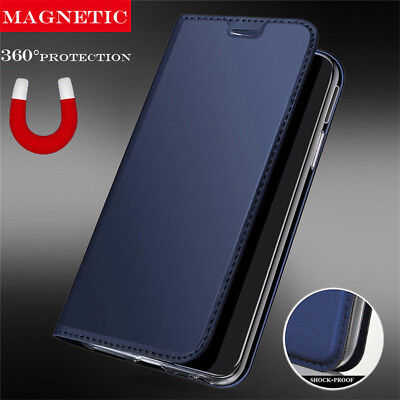 For Xiaomi Redmi 6A Note 6 Pro S2 Luxury Leather Flip Wallet Magnetic Case Cover