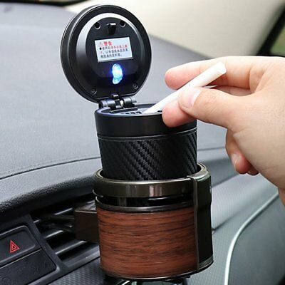 CARMATE DZ320 Car Air Conditioner Outlet Dashboard Wood Grain Cup Holder UK