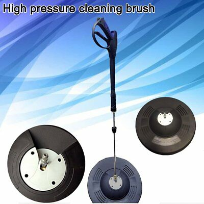15 Inches Flat Rotary Cleaner Universal Cleaning Brush For Pressure Washer NEW