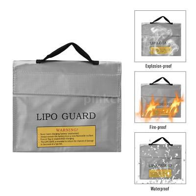 PRO Battery Safety Bag Fireproof LiPo Safe Charge Pouch Waterproof Sack Holder