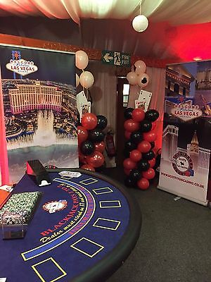 FUN CASINO HIRE- Roulette Table / Poker Table / BlackJack Table + Photo Booth