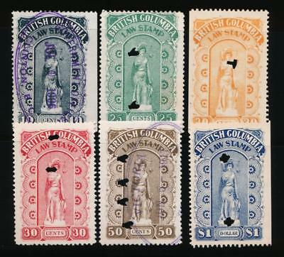 CANADA BRITISH COLUMBIA BCL 16-21 USED, 4th SERIES, LAW
