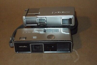 Pair Of Minolta 16 Subminature Cameras