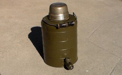Old US WW2 era Army Air Forces / USN Navy metal Insulated Thermos Food Container