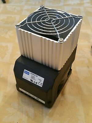 DBK Cirrus 80 FGC2003 DIN Rail Enclosure Fan Heater 450/800W 110/230 VAC