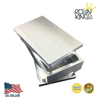 "3x5"" Rosin Pre Press Mold Highest Quality 6061 Aluminum FREE SHIPPING IN 5 DAYS"
