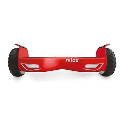 Hoverboard 6.5 Pollici 2 Ruote Max 10 km/h Rosso Nilox 30NXBK65NWN08 DOC 2