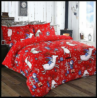Christmas Bedding Set With Pillowcase Single Double New Christmas Design SPIRIT