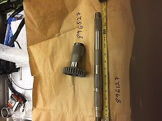 wide tire mainshaft and drive gear