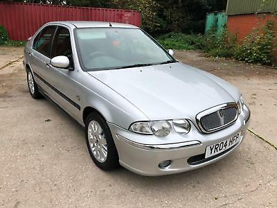 2004 ROVER 45 1.4i IMPRESSION S-GENUINE 25,000 MILES WITH FULL SERVICE HISTORY