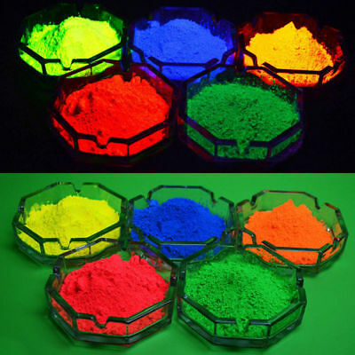 Professional luminescent pigments, phosphorescent powder, fluorescent color
