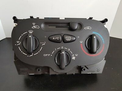 2007 PEUGEOT 206CC 1.6 1.4 2DR HEATER CONTROL PANEL 99210 BEHR with aircon