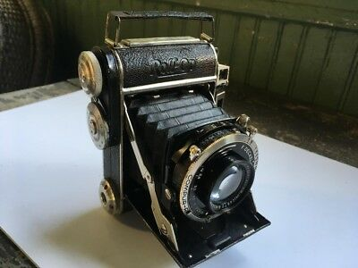 Plaubel Roll-OP Film Folding Camera With Anticomar 7.5cm f2.8 lens