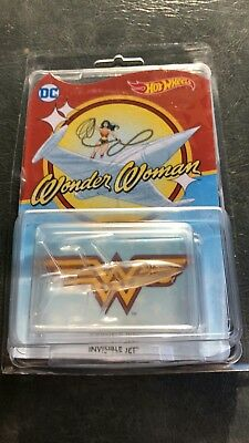 HOT WHEELS 2017 Wonder Woman Invisible Jet RLC Convention Mail In