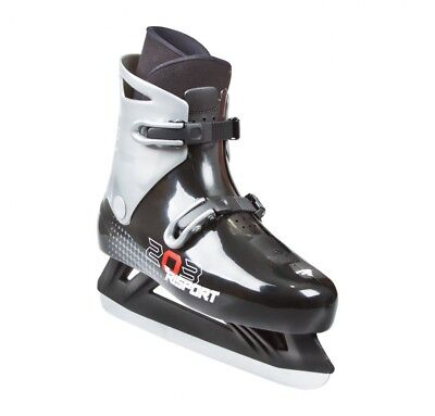 Risport 203 Ice Skate Size Euro 37 Black And Grey Colour With Clips