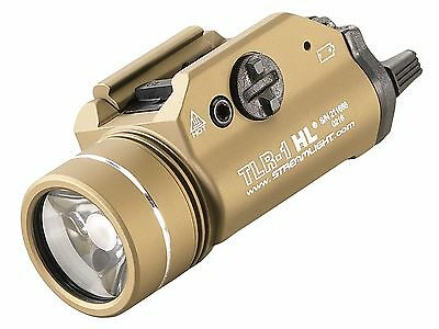 Streamlight 69266 TLR-1 HL Rail Mounted Tactical LED Weaponlight Flat Dark Earth