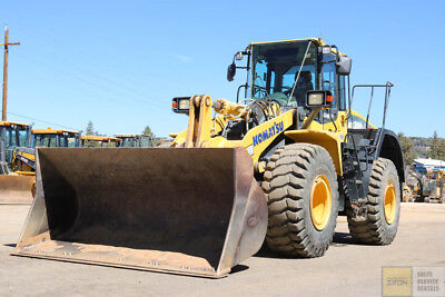 2012 Komatsu Wa380-7 Wheel Loader 6300Hrs Hyd Q/c Ride Control 3Rd Valve Tier 3