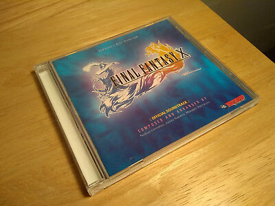 Final Fantasy X Official Soundtrack CD