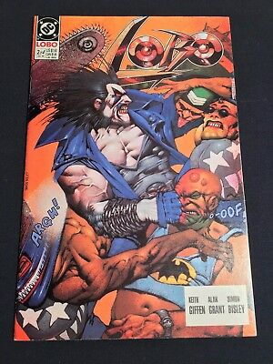 LOBO #2 of 4 (1st Limited Series) 1990/1991 DC Comics Uncertified BISLEY, GIFFEN