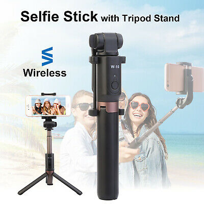 Wireless Selfie Stick Tripod Monopod Remote Control 360° Clamp For iOS Android
