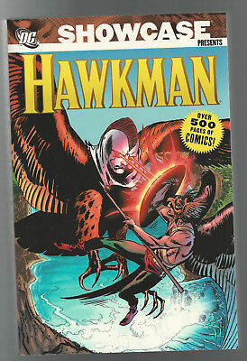 NEW DC COMICS TPB SHOWCASE presents HAWKMAN Over 500 pages 2007 softcover book