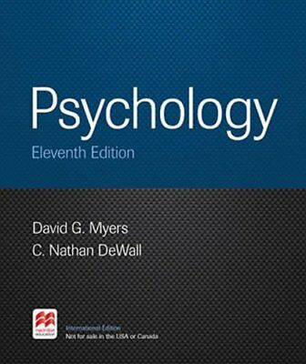 NEW Psychology, 11th Edition by David G. Myers