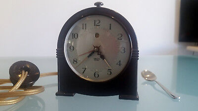 Art Deco Smiths Sectric, Bakelite, Alarm Clock, Immaculate Working Condition.