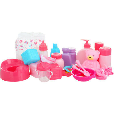 Tinkers Baby Doll Accessories 25 Pieces Nursery Play Set Christmas Birthday Gift