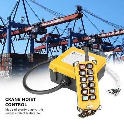 Crane Chain Hoist Push Button Switch Lifting Remote Controller