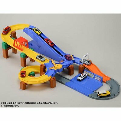 Takara Tomy Tomica Road System 3 action automatic Highway Road playset Set toys