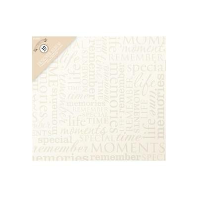 Scrapbooking Album Cream Memories 12x12 inch