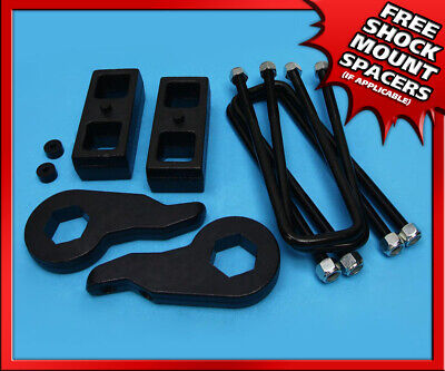 "1-3"" FT Forged + 2"" RR Steel Lift Kit 00-13 Chevy Suburban 2500 2WD 4WD 8-Lug"